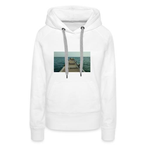 Vacances - Sweat-shirt à capuche Premium pour femmes