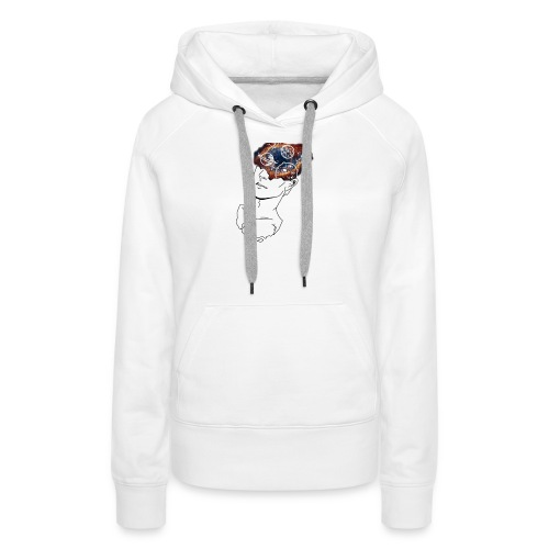 Mind Blown Out Of This World - Women's Premium Hoodie