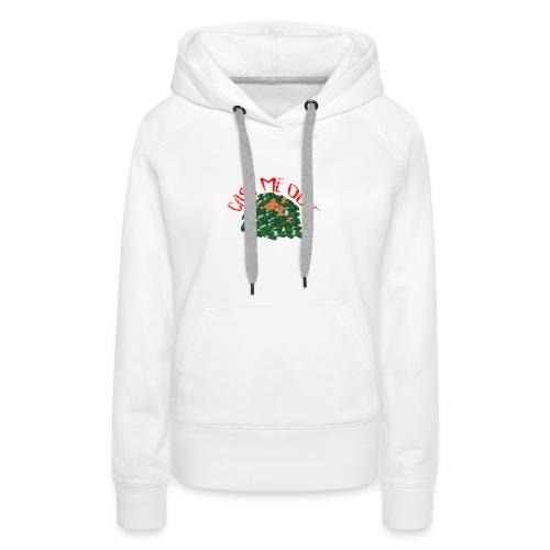 Cash Me Out Teddy - Vrouwen Premium hoodie