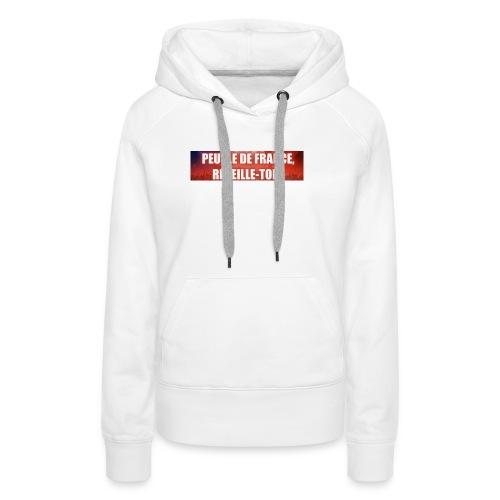 Vêtements pour les patriotes - Sweat-shirt à capuche Premium pour femmes