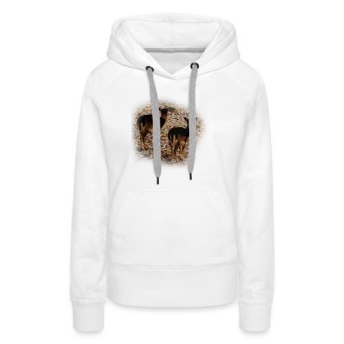 Damwild Gehege - Frauen Premium Hoodie
