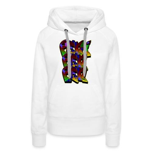 PENIPENPEN GRAFFITI - Frauen Premium Hoodie