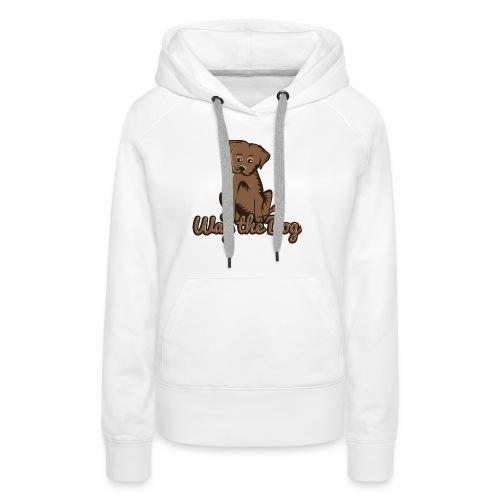 wag the dog - Frauen Premium Hoodie