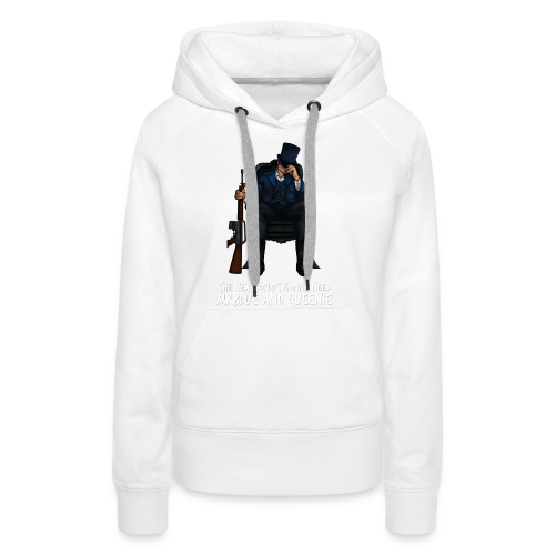 MrBlue's New World - Women's Premium Hoodie