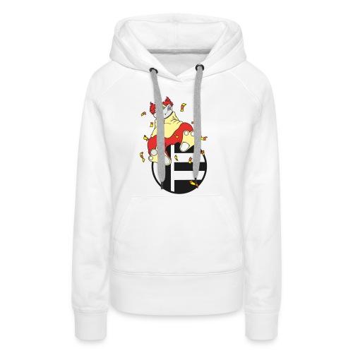 Katze Clown - Frauen Premium Hoodie