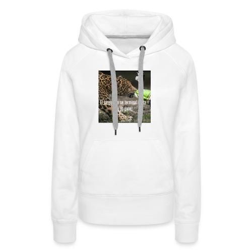 Game jaguar - Sudadera con capucha premium para mujer
