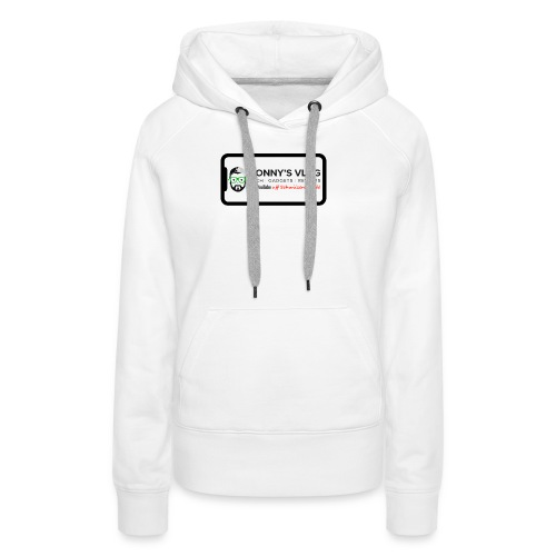 iPhone X by Ronny's Vlog - Frauen Premium Hoodie