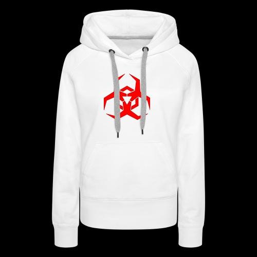 Radioaktive - Dame Premium hættetrøje