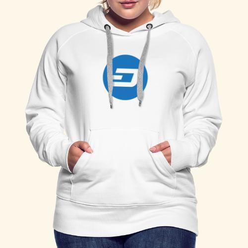 Dash Logo 2 - Frauen Premium Hoodie