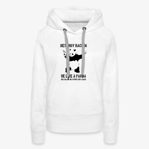 DESTROY RACISM - Women's Premium Hoodie