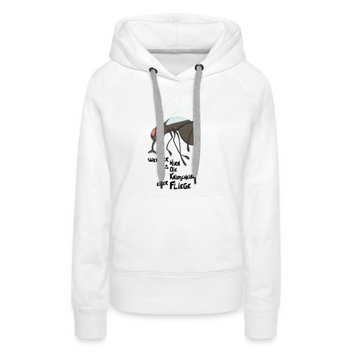 Kleinhirn Fliege - Frauen Premium Hoodie