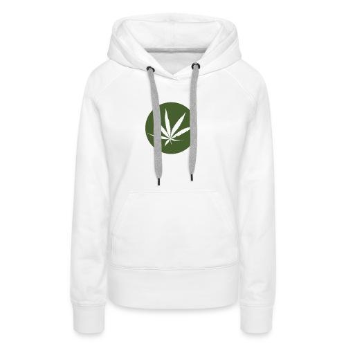 weedlogo - Vrouwen Premium hoodie