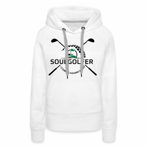 I compete against myself - soulgolfer - Frauen Premium Hoodie