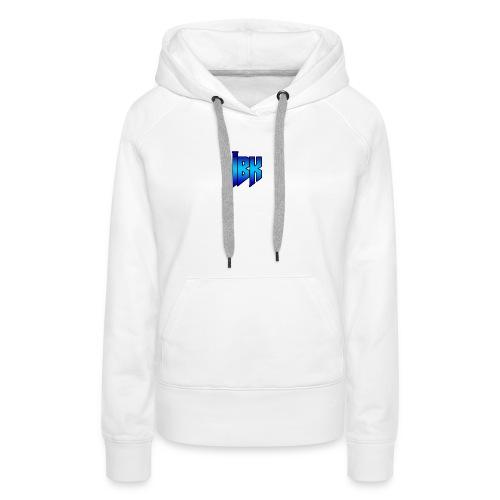 T-SHIRT MET LOGO OP - Vrouwen Premium hoodie
