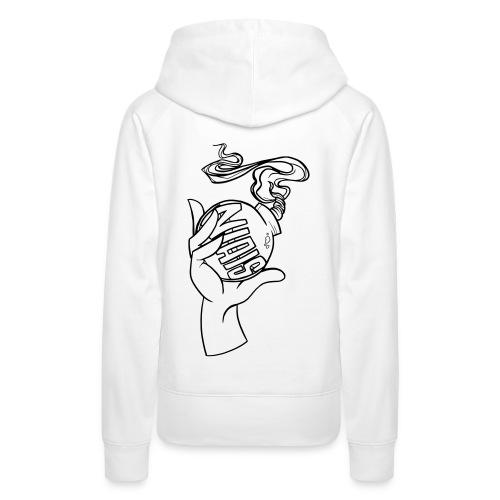 Le niais bomb - Sweat-shirt à capuche Premium pour femmes