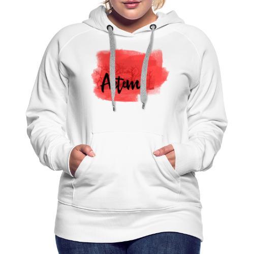Collection Artem - Sweat-shirt à capuche Premium pour femmes