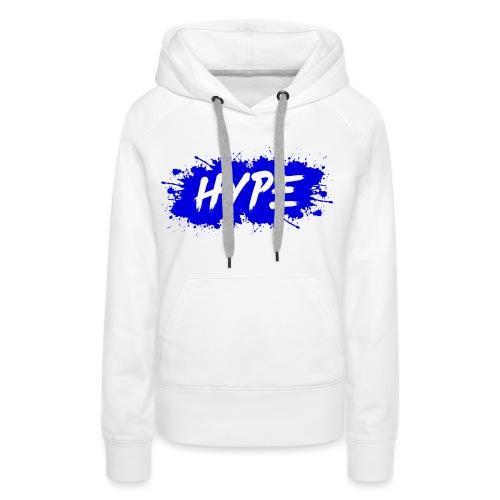 Paint Splash Blue - Vrouwen Premium hoodie