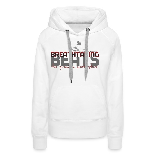 Logo Big White Ground - Women's Premium Hoodie