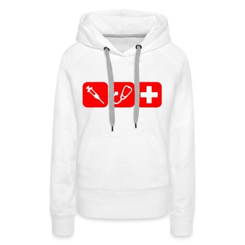 Basis-Rot_sweat - Frauen Premium Hoodie