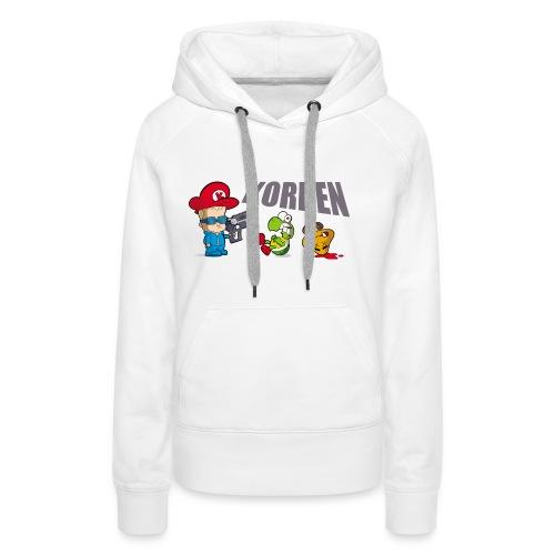 korben 2 dd orig2 - Sweat-shirt à capuche Premium pour femmes