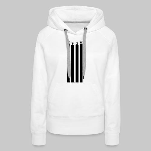 rayzor streifen logo - Frauen Premium Hoodie