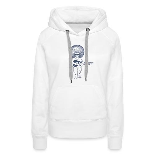 Guitarisk - Sweat-shirt à capuche Premium pour femmes