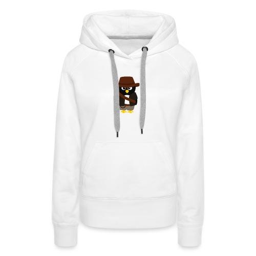 Pingouin Indiana - Sweat-shirt à capuche Premium pour femmes