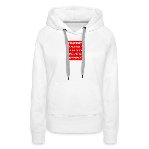 Missgeburt Shirt (Weiss) | Lucas - Frauen Premium Hoodie