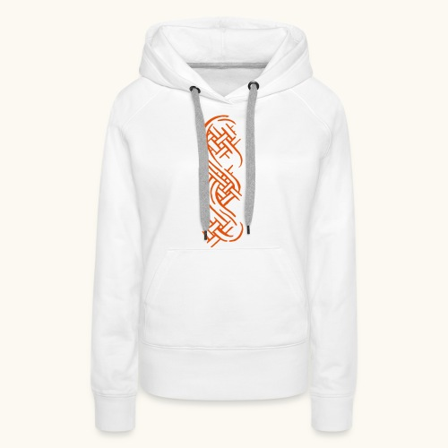 Tribals Tattoo Design Keltische Knoten Geschenk - Sweat-shirt à capuche Premium pour femmes