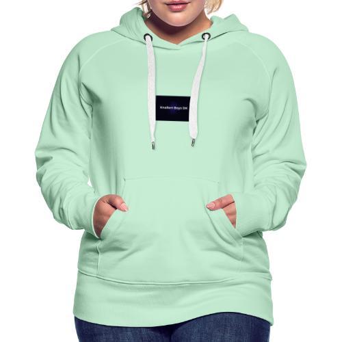 Klistermærke - Dame Premium hættetrøje
