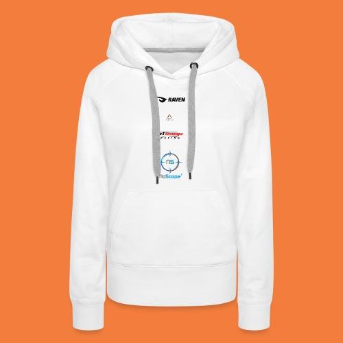 NoScope Logo Vertical png - Women's Premium Hoodie