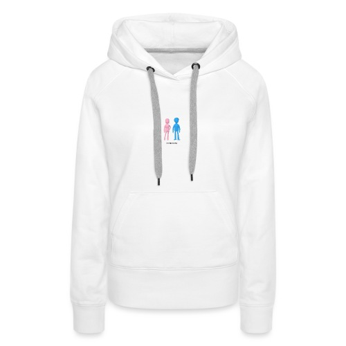 Girl Meets Boy - Women's Premium Hoodie