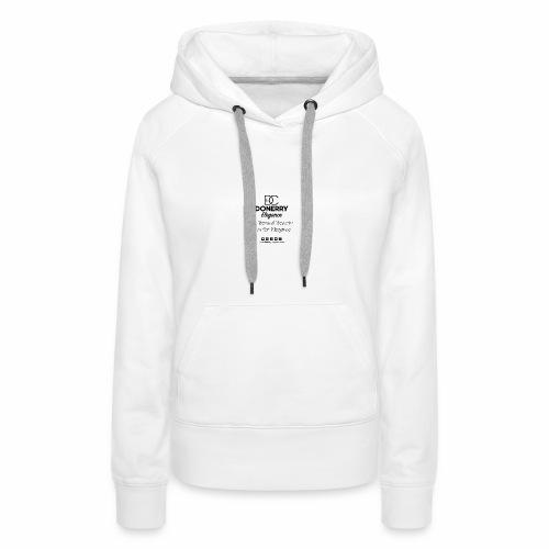 Go Beyond Elegance Image T Shirt design - Women's Premium Hoodie