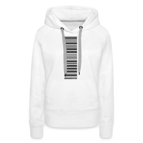Barcode-T-Shirt Volleyballer - Frauen Premium Hoodie