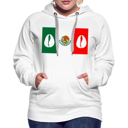 Santería en México o Regla de Osha Ifá - Sudadera con capucha premium para mujer