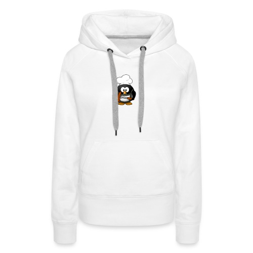 Grill Chef Pinguin - Frauen Premium Hoodie