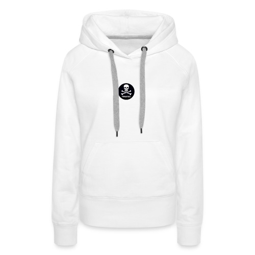 skull-and-bones-pirates-jpg - Vrouwen Premium hoodie