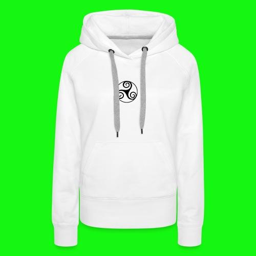 celtic-zen - Sweat-shirt à capuche Premium pour femmes