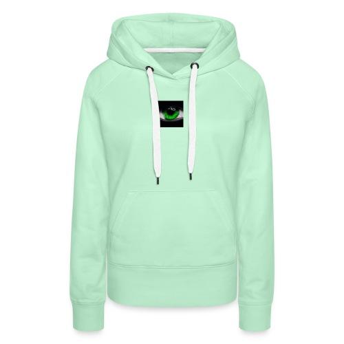 Green eye - Women's Premium Hoodie