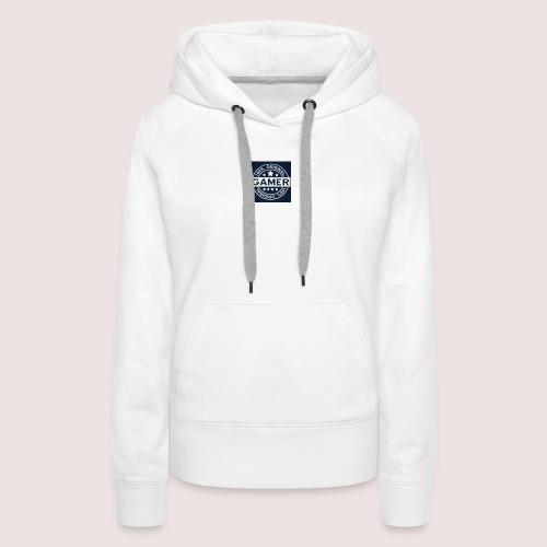 Gamer Logo - Frauen Premium Hoodie