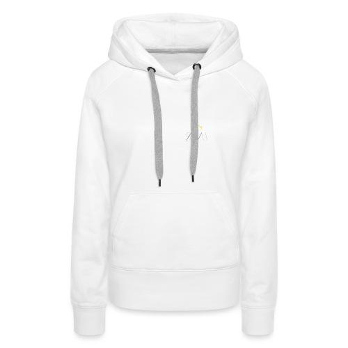 Sayrah's Logo 👑 - Sweat-shirt à capuche Premium pour femmes