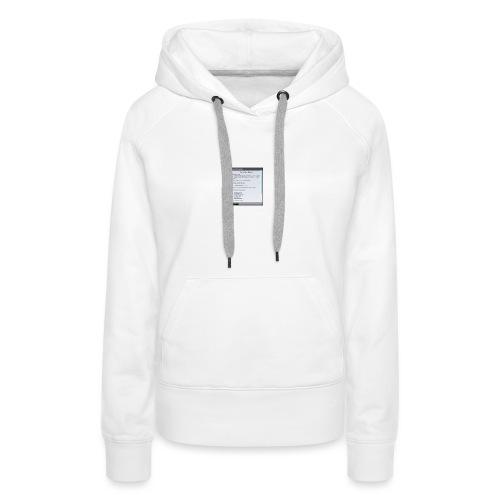 chap1 - Frauen Premium Hoodie