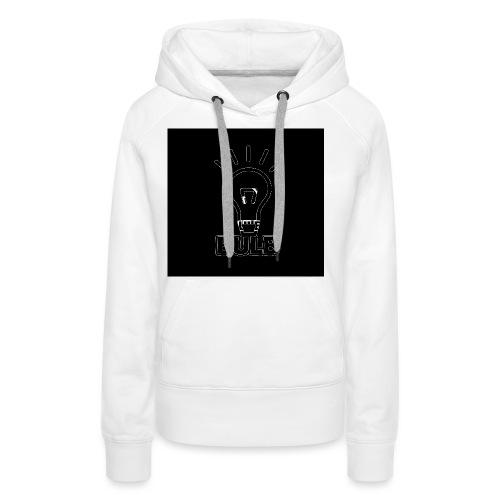 bulb button - Vrouwen Premium hoodie