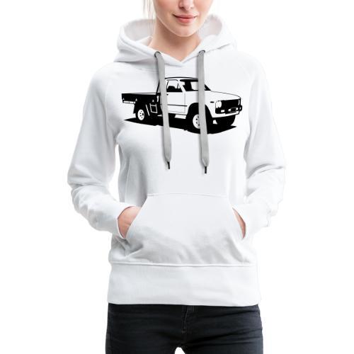 Truck - Frauen Premium Hoodie