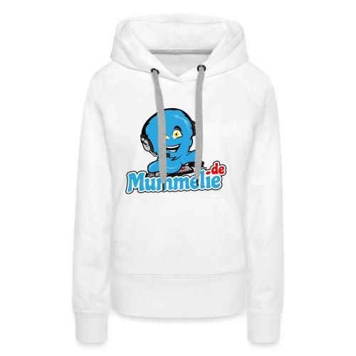 blau komplett übereinander - Frauen Premium Hoodie