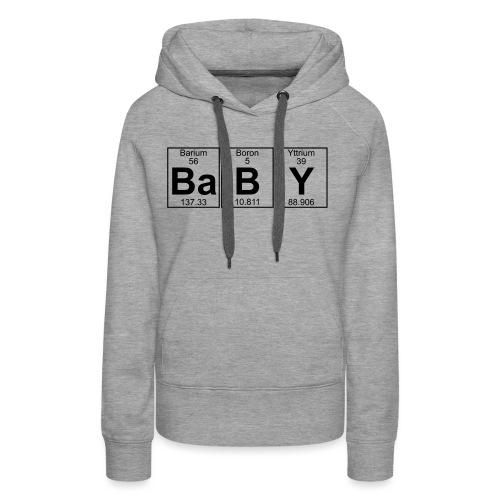 Ba-B-Y (baby) - Full - Women's Premium Hoodie