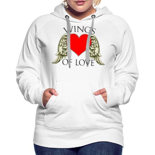 wings of love - Women's Premium Hoodie