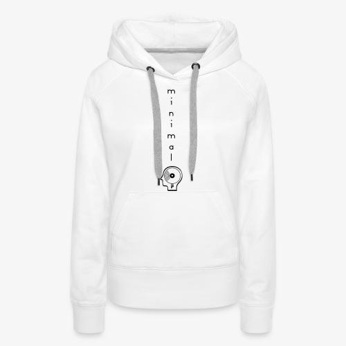 Minimal Labor Ost Logo vertikal - Frauen Premium Hoodie