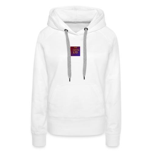 JustGamingLTD-png - Vrouwen Premium hoodie