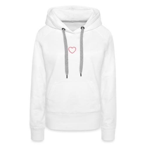 heart jpg - Frauen Premium Hoodie
